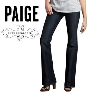 Anthropologie Paige Boot Cut Jeans Size 30